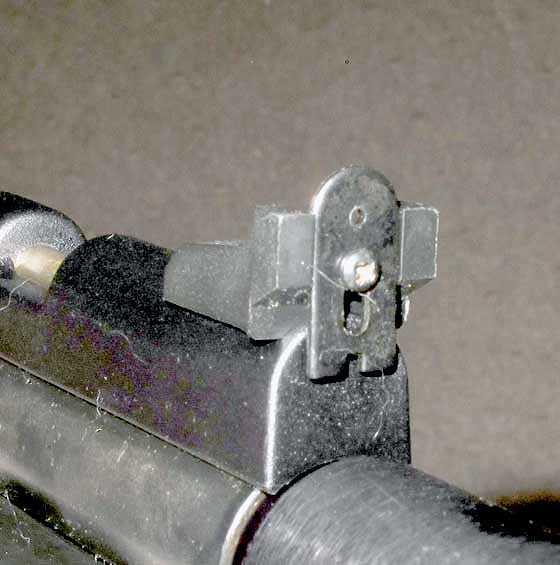 crosman 2240 rear sight