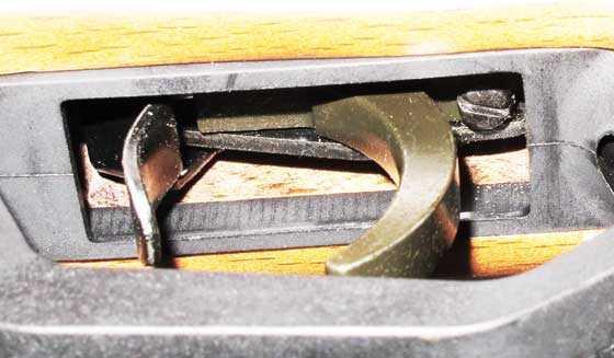 Benjamin Trail Nitro Piston 2 trigger