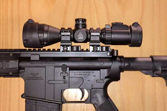 Winchester MP4 scope