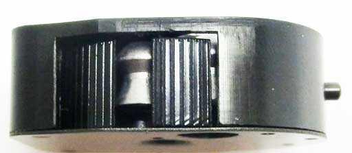 BSA Scorpion SE beech stock mag side view