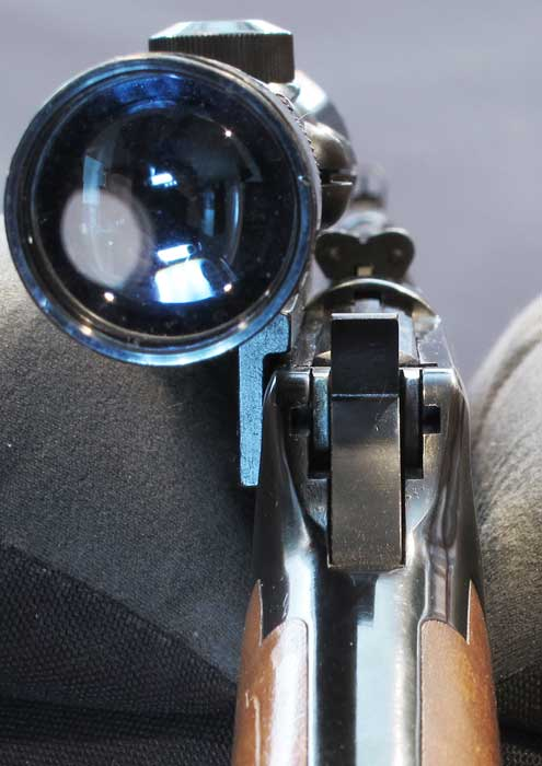 UTG 2-7X44 Scout SWAT scope Winchester 94 with scope