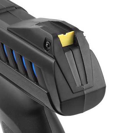 Gamo P900 IGT air pistol rear sight