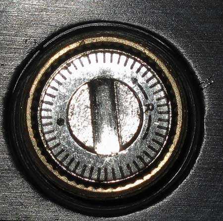 Tech Force 90 dot sight adjustment knob