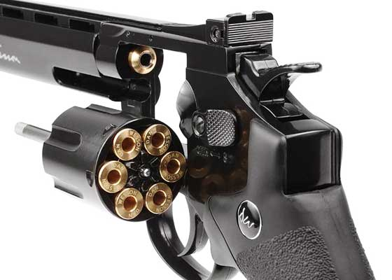 Dan Wesson pellet revolver cylinder out