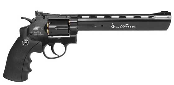 Dan Wesson pellet revolver right