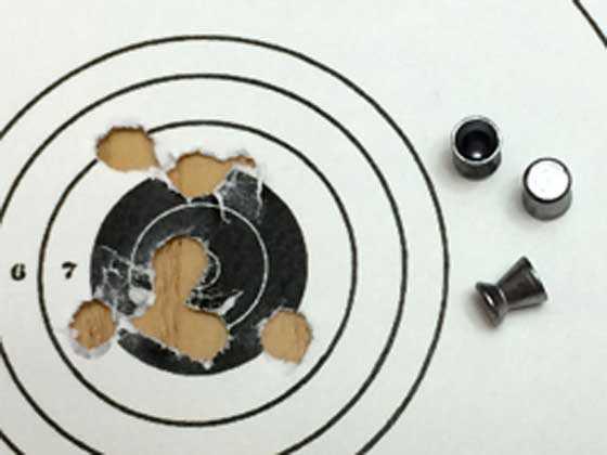 Winchester MP4 CO2 rifle RWS Diabolo Basic