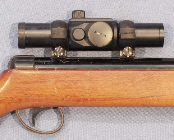 Meteor with Tasco mounted