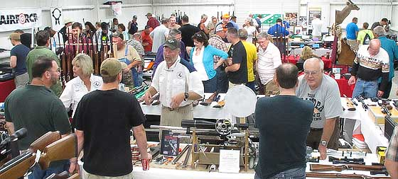Airgun show after opening