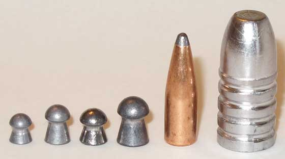 pellets and bullets