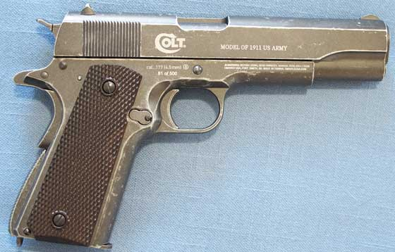 Colt Limited Edition NRA 1911 BB Pistol right