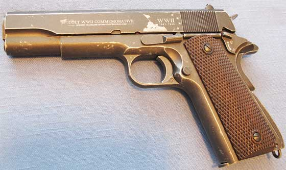 Colt Wwii Commemorative Co2 Bb Pistol Part 2 Air Gun
