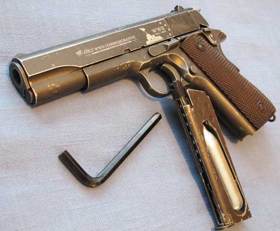 Colt Limited Edition NRA 1911 BB Pistol left