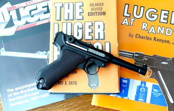 Legends P08 blowback BB Pistol books
