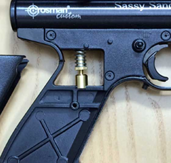 Crosman 2400 KT adjustable trigger
