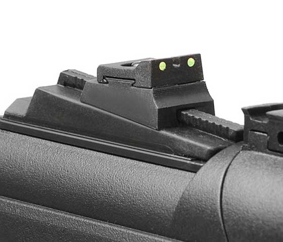 Black Ops Junior Sniper air rifle combo rear sight