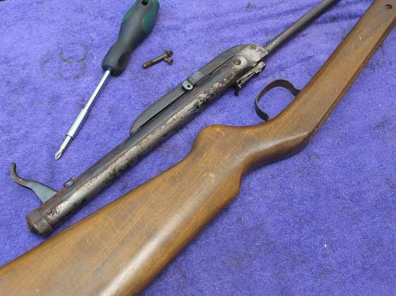 how to clean rust out of a rifle barrel