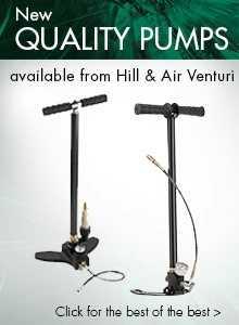 Air Venturi hand pump and Hill hand pump