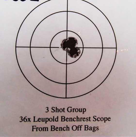 Cooper target