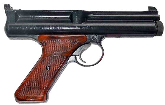 Crosman 600 semiauto CO2 pistol