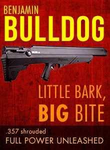 Benjamin Bulldog bullpup pellet gun