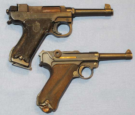M40 pistol with Luger