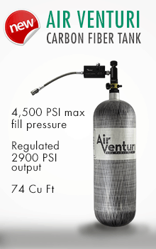 Air Venturi 74 cu-ft carbon fiber tank