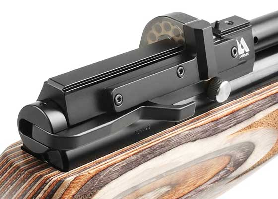Air Arms S510 Ultimate Sporter sidelever