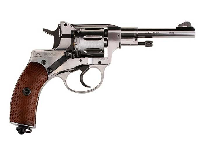 Gletcher Nagant pellet revolver right