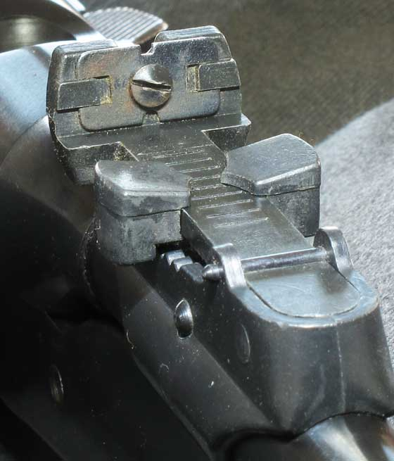 BSF S54 rear sight adjustment