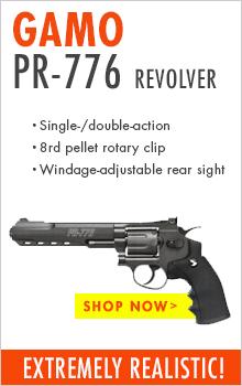 Gamo PR776 CO2 pellet revolver
