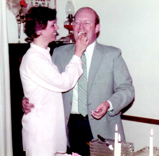 Edith marries Tom 1982