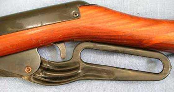 Parris BB gun lever