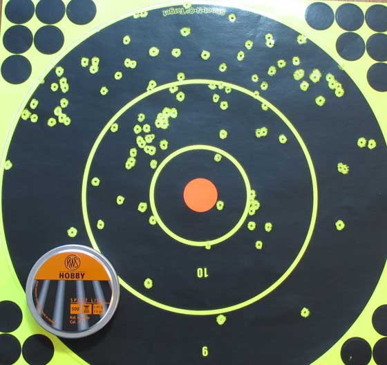 Air Venturi Wing Shot 20 yards