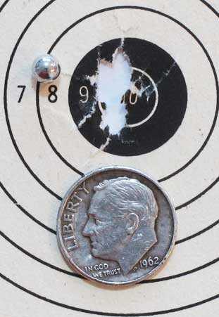 Smart Shot BBs 499 target 1