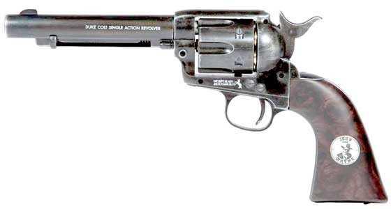 Duke Colt pellet revolver