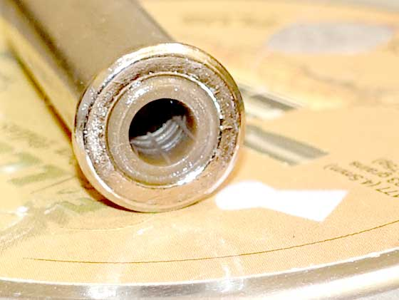Duke Colt pellet revolver cartridge base