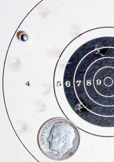 Daisy Targeteer Air Venturi Steel BBs target