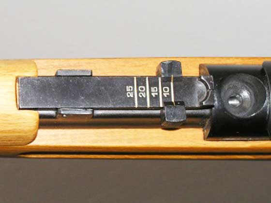 VZ47 rear sight