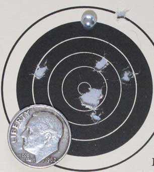 Dan Wesson BB revolver Blaster target