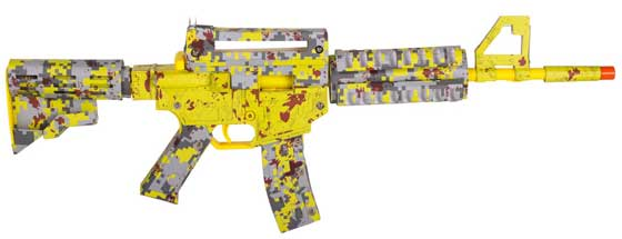 Paper Shooter Zombie Slayer