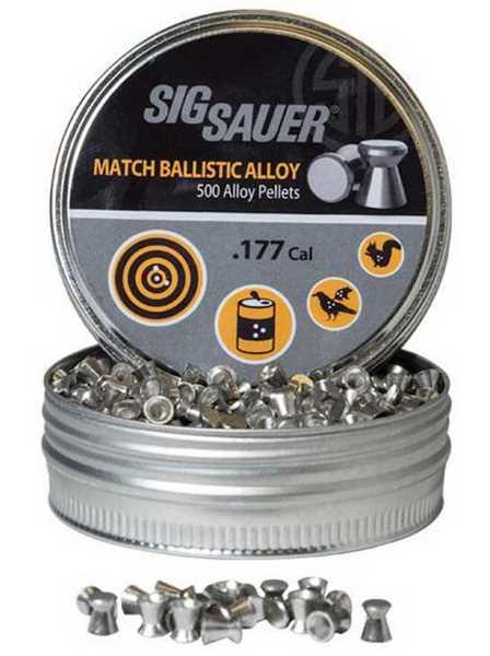 Sig Match Ballistic Alloy pellets