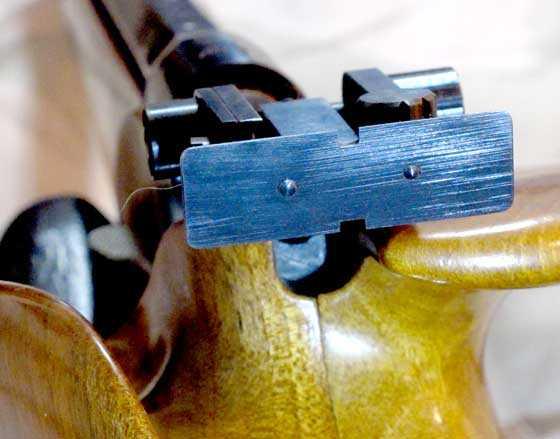 Hammerli 100 rear sight