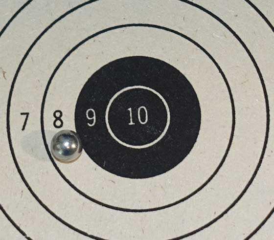 5 meter target