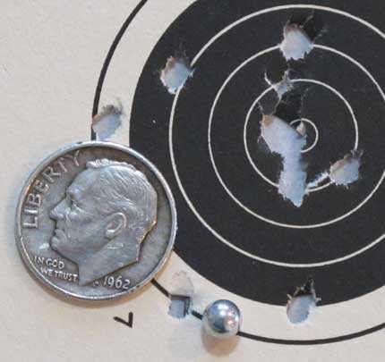 Brodax revolver Daisy BB target