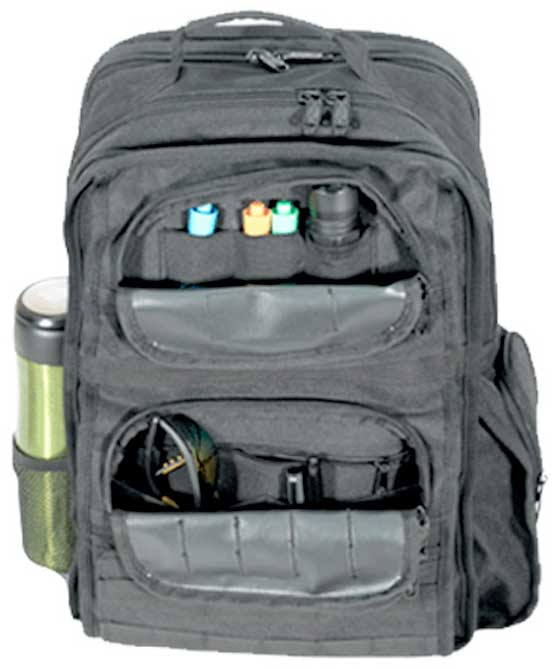 UTG Rapid Mission Deployment Daypack front pockets