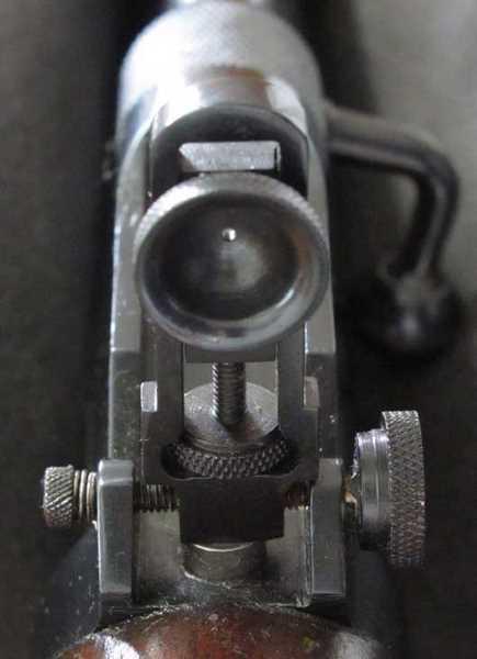 Webley Mark II Service rear peel  sight