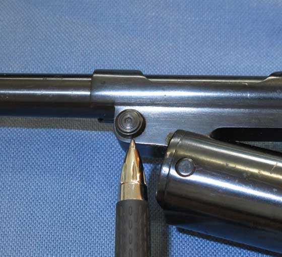 Webley Mark II Service barrel release