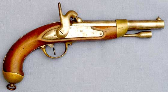1822 French pistol