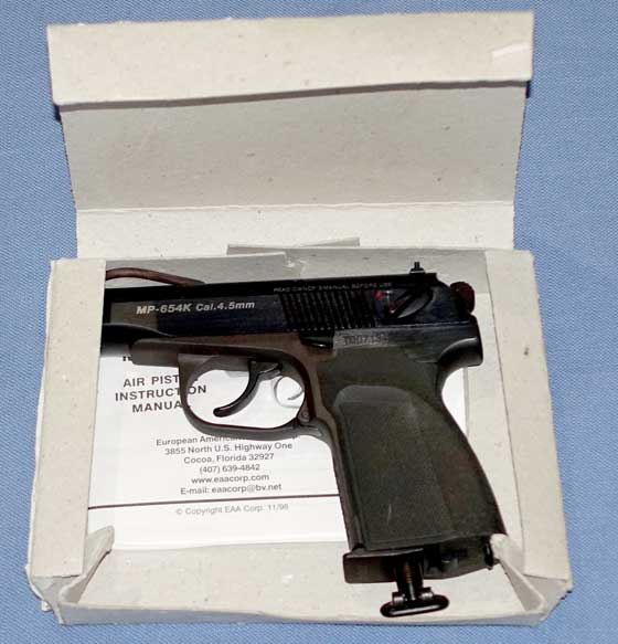 Makarov BB pistol in box