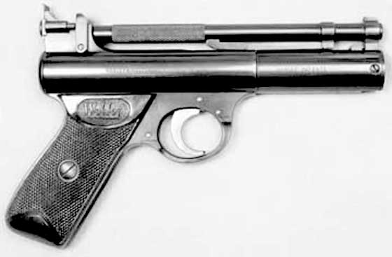 Webley Senior slant grip